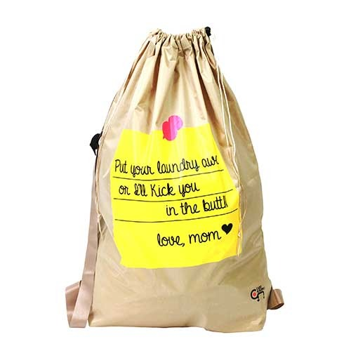 [Cart And Supply]런드리백팩/Laundry Back Bag - 베이지