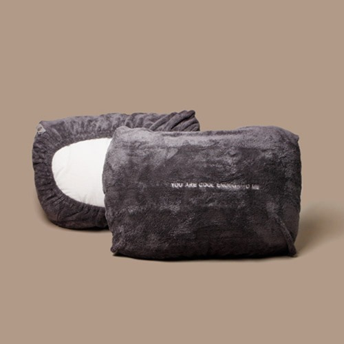 [COOL]THE PILLOW COVER_GRAY